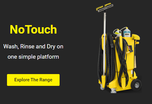 No Touch Cleaning range