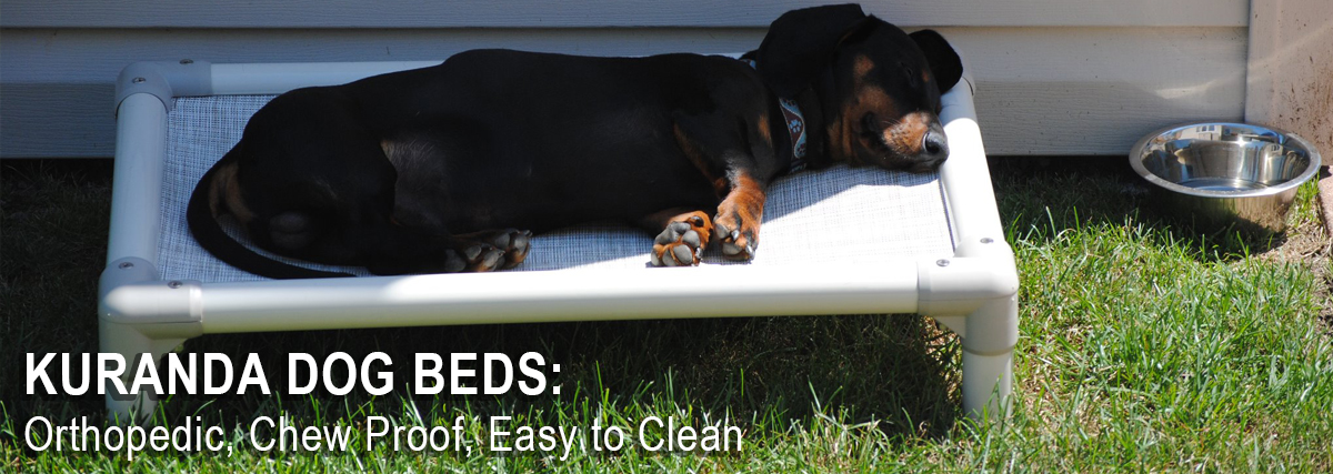 Kuranda Chew Proof Orthopedic Dog Bed Therian Australia